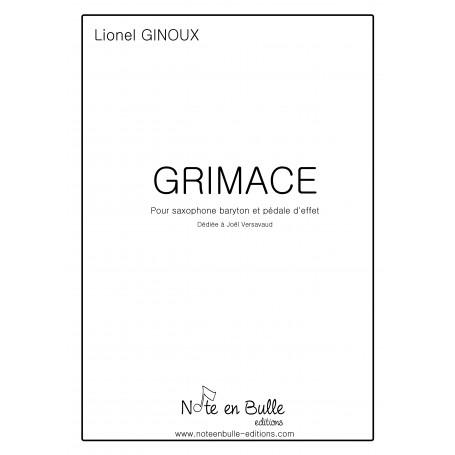 Lionel Ginoux Grimace - Version PDF