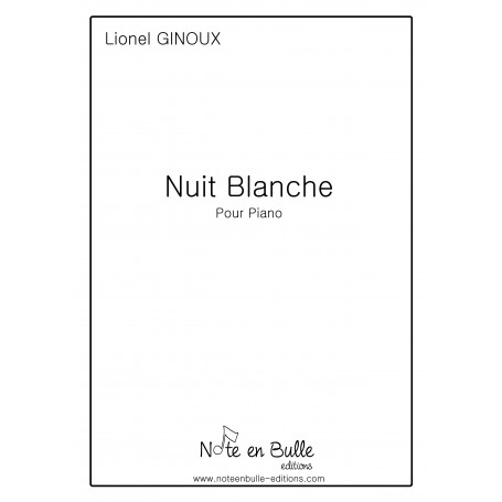 Lionel Ginoux Nuit Blanche - pdf