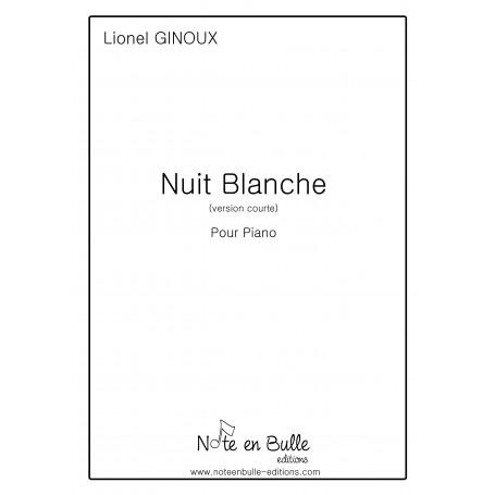Lionel Ginoux Nuit Blanche version courte - pdf