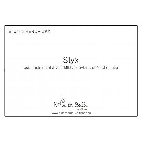 Etienne Hendrickx Styx - printed version