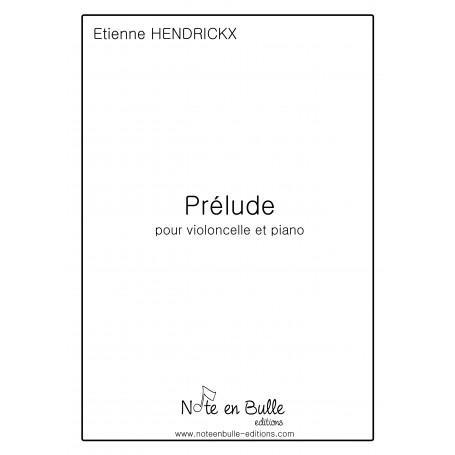 Etienne Hendrickx prélude - pdf