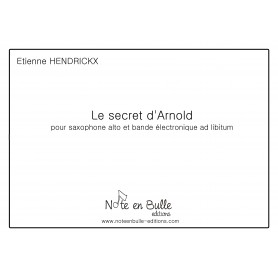 Etienne Hendrickx Le secret d'Arnold - printed version
