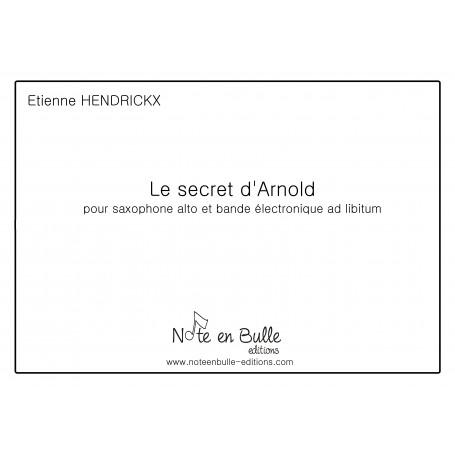 Etienne Hendrickx Le secret d'Arnold - printed version