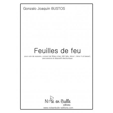 Gonzalo Joaquin Bustos - Feuilles de feu - PDF