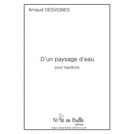 Arnaud Desvignes D'un paysage d'eau- Version PDF