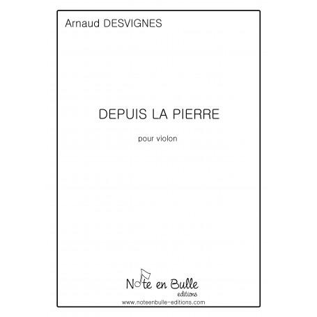 Arnaud Desvignes Depuis la pierre - pdf