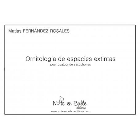 Matias Fernandez Rosales Ornitologia de especies extintas - pdf