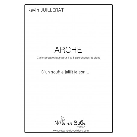Kevin Juillerat Arche 1 - printed version
