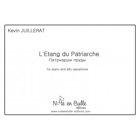 Kevin Juillerat l'étang du patriarche - Version Papier