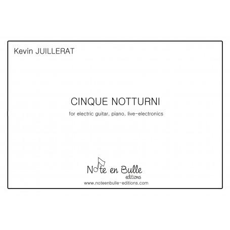 Kevin Juillerat Cinque Notturni - pdf