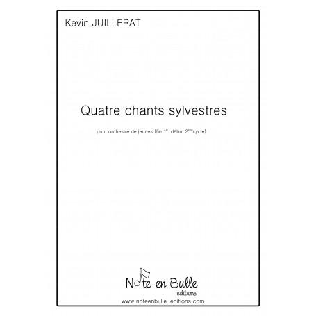 Kevin Juillerat 4 chants Sylvestres - pdf