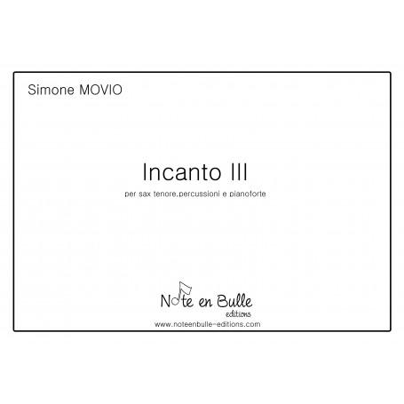 Simone Movio Incanto III- sheet paper