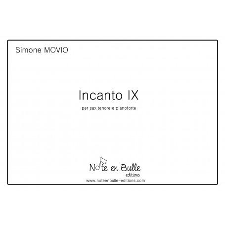 Simone Movio Incanto IX - sheet paper