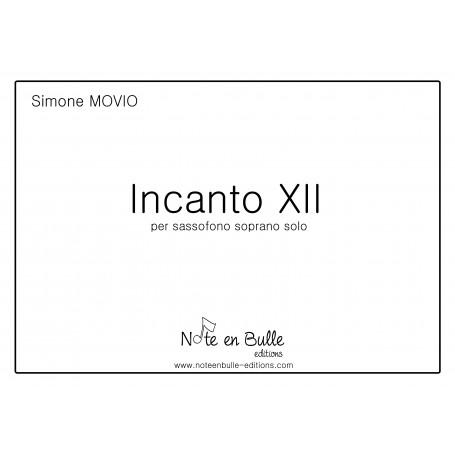 Simone Movio Incanto XII Version Papier