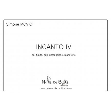 Simone Movio Incanto IV - printed version
