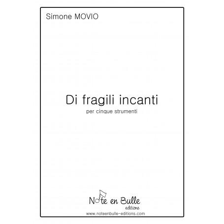 Simone Movio Di Fragili Incanti - pdf