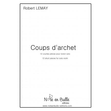 Robert Lemay coups d'archet - pdf