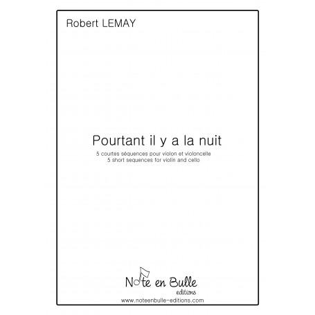 Robert Lemay Pourtant il y a la nuit - pdf