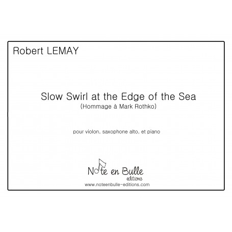 Robert Lemay Slow Swirl at the Edge of the Sea - pdf