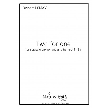 Robert Lemay Two for one - pdf