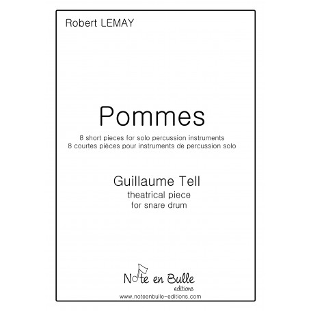 Robert Lemay Pommes (Guillaume Tell) - Pdf