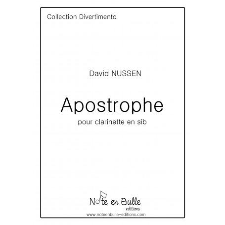 David Nussen Apostrophe I, II -  Pdf
