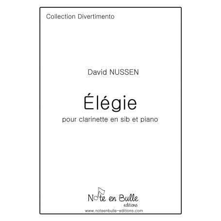 David Nussen Elegie -  Pdf