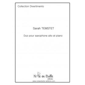 Sarah Temstet Duo pour saxophone alto et piano - Printed version