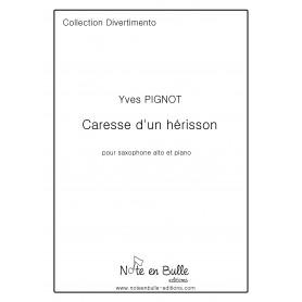 Yves Pignot Caresse d'un hérisson-  Pdf