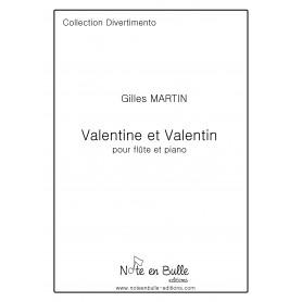Gilles Martin Valentine et Valentin - version Papier