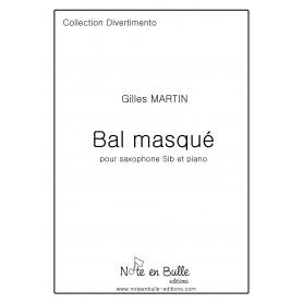 Gilles Martin Bal Masqué Bb Sax -  Pdf