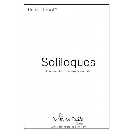 Robert Lemay Soliloques - version Pdf