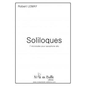 Robert Lemay Soliloques - version papier