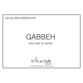 Farnaz Modarresifar Gabbeh printed version