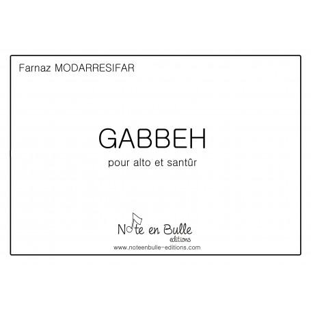 Farnaz Modarresifar Gabbeh Version papier