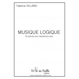Fabrice Villard Musique Logique cahier D (XVI à XX) - Version Pdf