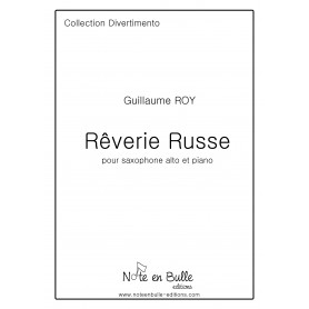 Guillaume Roy Rêverie Russe - printed version
