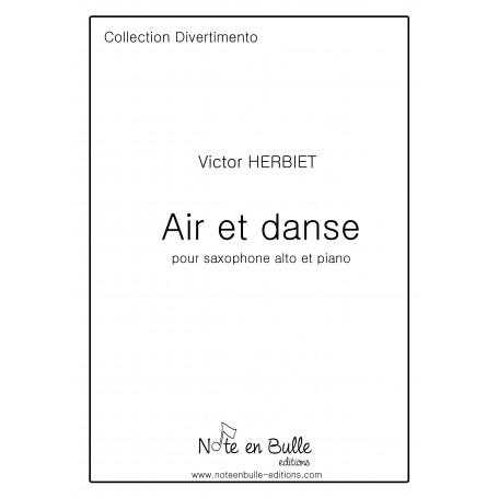 Victor Herbiet Air et danse - version papier