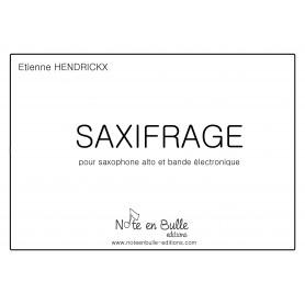 Etienne Hendrickx Saxifrage - Printed version